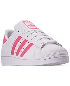 Girls' Originals Superstar Sneakers from Finish Line