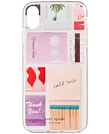 kate spade new york Matches iPhone XS Max Case