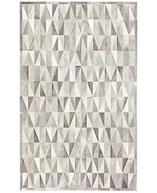 CLOSEOUT!  Cowhide HID-27 5' x 8' Area Rug