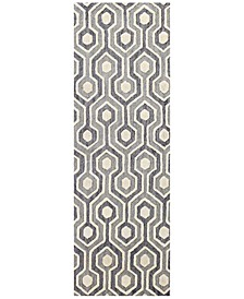 """CLOSEOUT!  Loop LOP-144 2'6"""" x 8' Runner Area Rug"""
