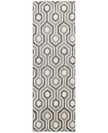 "BB Rugs Loop LOP-144 2'6"" x 8' Runner Area Rug"