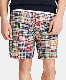 "Polo Ralph Lauren Men's Classic-Fit 9.25"" Madras Shorts, Created for Macy's"
