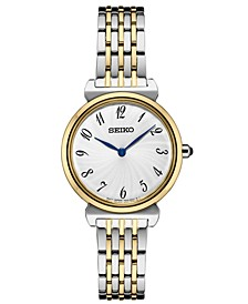 Women's Essential Two-Tone Stainless Steel Bracelet Watch 29.6mm