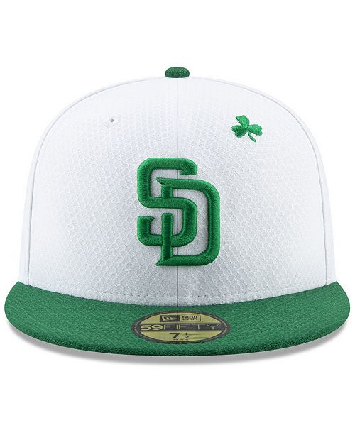 569b036740487 New Era San Diego Padres St. Pattys Day 59FIFTY-FITTED Cap   Reviews ...
