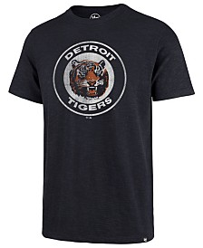 '47 Brand Men's Detroit Tigers Scrum Logo T-Shirt