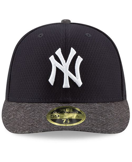 New Era New York Yankees Spring Training 59FIFTY-FITTED Low Profile ... 4dc700ce9e1