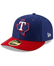 New Era Texas Rangers Spring Training 59FIFTY-FITTED Low Profile Cap