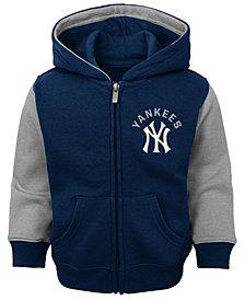 Outerstuff Baby New York Yankees Fielder Full-Zip Hoodie