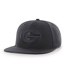 '47 Brand Georgia Bulldogs Core Black on Black Fitted Cap