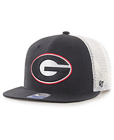 '47 Brand Georgia Bulldogs Gambino Mesh Snapback Cap