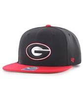 a2898deb0fd  47 Brand Big Boys Georgia Bulldogs No Shot 2Tone Snapback Cap