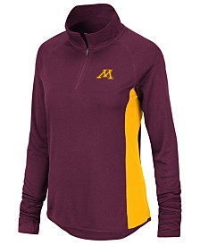 Colosseum Women's Minnesota Golden Gophers Albi Quarter-Zip Pullover