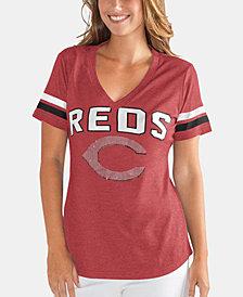 G-III Sports Women's Cincinnati Reds Rounding the Bases T-Shirt