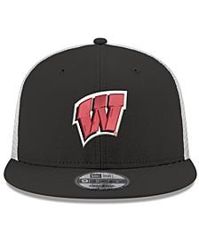 Wisconsin Badgers TC Meshback Snapback Cap
