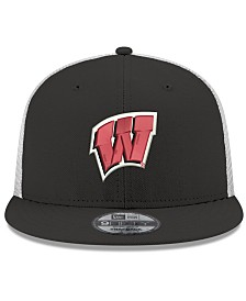 New Era Wisconsin Badgers TC Meshback Snapback Cap