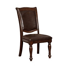 Traditional Style Side Chair - Set Of 2