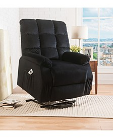 Ipompea Recliner with Power Lift & Massage