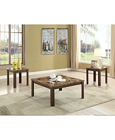 Finely 3-Piece Coffee-End Table Set