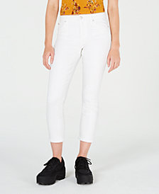 Celebrity Pink Juniors' Cropped Skinny Jeans