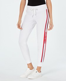 Calvin Klein Performance Striped Logo Joggers