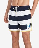 3e76a4725a Tommy Hilfiger Men's Swim Shorts: Shop Men's Swim Shorts - Macy's