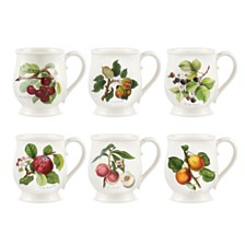 Portmeirion Pomona Bristol Tankard Mug Assorted Set/6