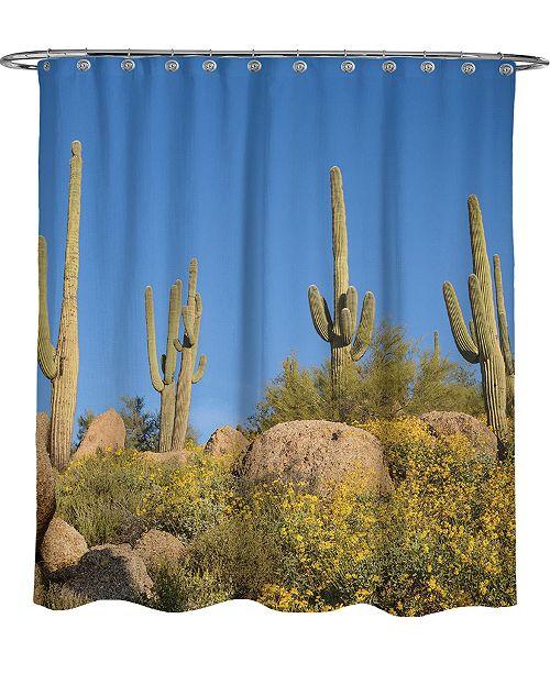 Avanti Cactus Shower Curtain