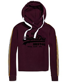 Superdry Logo Cropped Hooded Sweatshirt