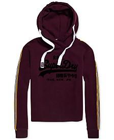 Superdry Logo Cropped Hooded Sweatshirt