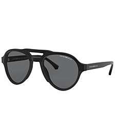Polarized Sunglasses , EA4128 54