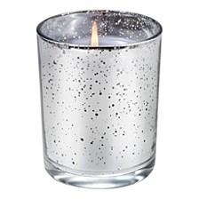 Viola Driftwood Metallic Cylinder Candle