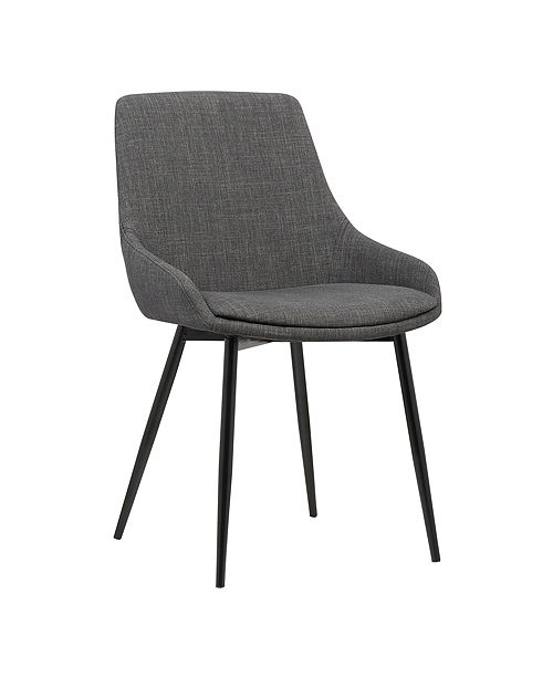 Armen Living Mia Dining Chair, Quick Ship