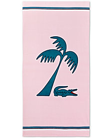 "Lacoste Murphy Cotton 36"" x 72"" Beach Towel"