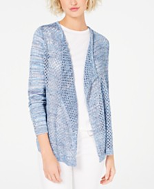 I.N.C. Pointelle Cardigan, Created for Macy's