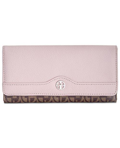 Giani Bernini Block Signature Receipt Wallet, Created for Macy's