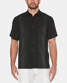 Cubavera Men's Ombre Stripe Shirt