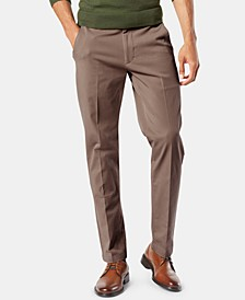 Men's Big & Tall Workday Tapered Fit Smart 360 Flex Stretch Khakis