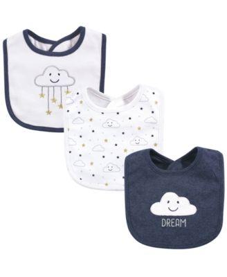 Hudson Baby Baby Cotton Drooler Bibs 7 Pack