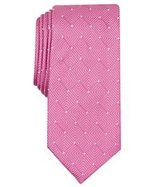 Men's Geometric Dot Tie, Created for Macy's