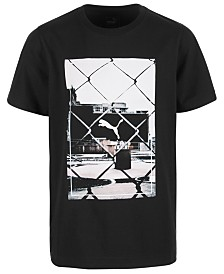 Puma Big Boys Graphic-Print Cotton T-Shirt