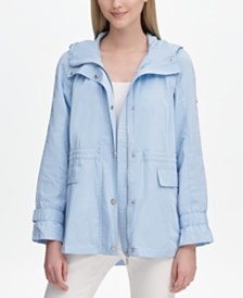 Calvin Klein Hooded Anorak Jacket