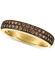 Chocolatier® Chocolate Diamond Ring (1/2 ct. t.w.) in 14k Gold