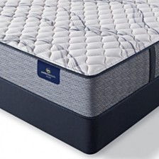 "Serta Perfect Sleeper Trelleburg II 12.5"" Extra Firm Mattress Set - Queen Split"