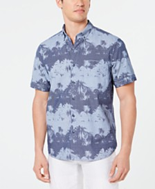Tommy Bahama Men's Pixel Palms Shirt