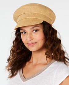 Nine West Packable Newsboy Cap