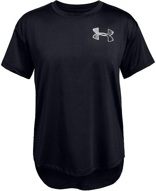 Under Armour Girls' HeatGear® Armour Short Sleeve