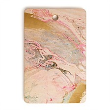 Winter Marble Rectangle Cutting Board