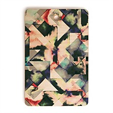 Watercolor Marble Tiles Rectangle Cutting Board