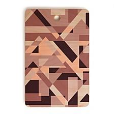 Geometric Play Rectangle Cutting Board
