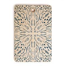 Indigo Maze Rectangle Cutting Board